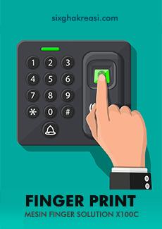 Aplikasi Tarik Data Fingerprint Solution X100c