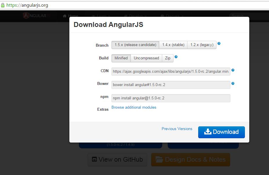 pengenalan angularjs cara menginstall dan menggunakan angularjs